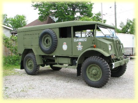244e301f1e 1943 F60S CMP (Canadian Military Pattern) Built and restored in Windsor